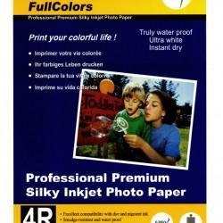 FullColors Professional Premium Silky Inkjet 4R Photo Paper 100 sheets Pack
