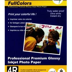FullColors Professional Premium Glossy Inkjet 4R Photo Paper 100 sheets Pack