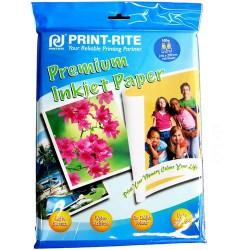 Print-Rite Premium Inkjet photo Paper 100 sheets per pack