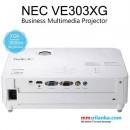 NEC NP-VE303XG Portable Projector (3000 ANSI Lumen, 1,024 × 768 XGA, HDMI, 10,000:1)