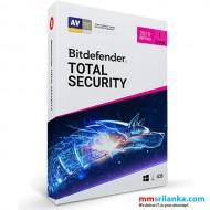 Bitdefender Total Security 2019 Single User License