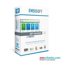 Emsisoft Anti-Malware (Offline Anti-Virus Software) for 1 PC