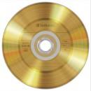 Verbatim CDR AZO 700MB 52X Gold Vinyl 50 Bulk Spindle