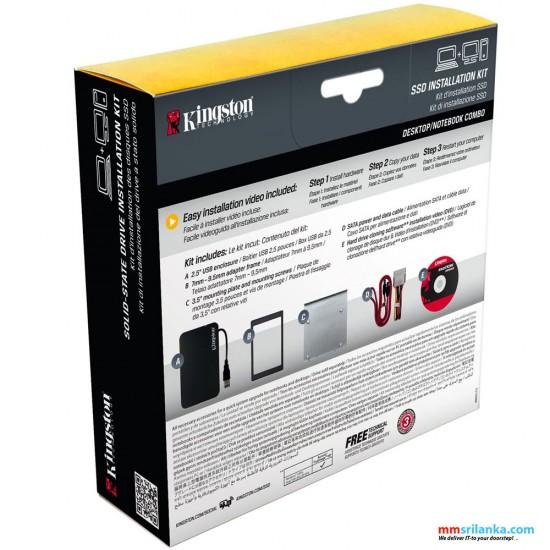 Kingston SSD Installation KIT, Kingston 2.5 Hard Disk/SSD Enclosure