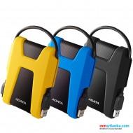 ADATA Durable 1TB USB 3.2 Gen Military-Grade Shock-Proof External Portable Hard Drive