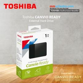 Toshiba Canvio READY 1TB USB3.0 External Hard Drive