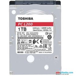 Toshiba 1TB Laptop Hard Disk