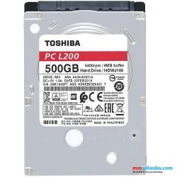 "Toshiba 500GB SATA Laptop Hard Disk 2.5"""