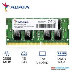 ADATA Premier AD4S2666316G19-R 16GB DDR4 2666MHz 260-pin SODIMM Laptop RAM