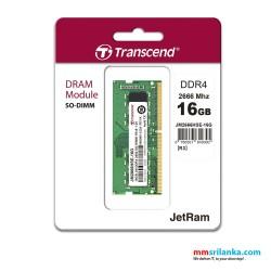 Transcend 16GB DDR4 2666Mhz SO-DIMM Laptop RAM
