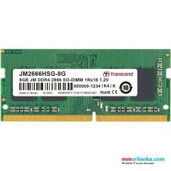 Transcend 8GB DDR4 2666Mhz SO-DIMM Laptop RAM