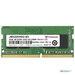 Transcend 8GB DDR4 3200Mhz SO-DIMM Laptop RAM