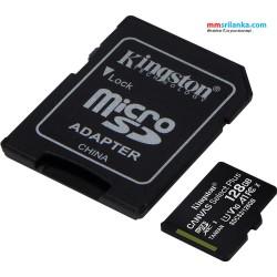 Kingston SDCS/128GB Canvas Select 128GB MicroSD UHS-I Class 10 memory card