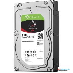"Seagate 6TB IronWolf Pro 7200 rpm SATA III 3.5"" Internal NAS Hard Disk"