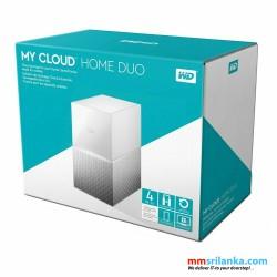 WD 4TB My Cloud Home Duo Personal Cloud Storage - WDBMUT0040JWT-BESN