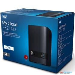 WD 4TB My Cloud EX2 Ultra Network Attached Storage - NAS - WDBVBZ0040JCH