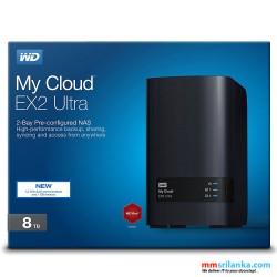 WD 8TB My Cloud EX2 Ultra Network Attached Storage - NAS - WDBVBZ0080JCH