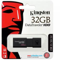 Kingston 32GB Data Traveler USB 3.1 Pen Drive
