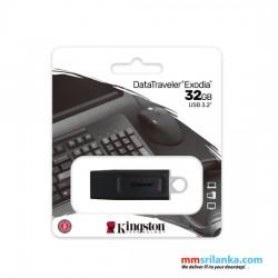 Kingston 32GB Exodia USB Flash Drive, USB 3.2 Pen Drive/ Flash Drive