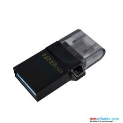 Kingston 128GB DataTraveler microDuo 3.0 G2 USB Flash Drive/ 128GB Pen Drive/ OTG Flash Drive