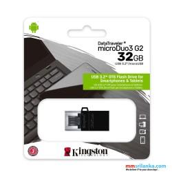 Kingston 32GB DataTraveler microDuo 3.0 G2 USB Flash Drive/ 32GB Pen Drive/ OTG Flash Drive
