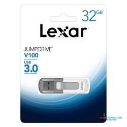Lexar JumpDrive V100 USB 3.0 32 GB Flash Drive