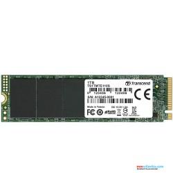 Transcend 1TB NVMe PCIe Gen3 x4 MTE110S M.2 SSD Solid State Drive