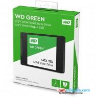 "Western Digital 1TB WD Green Internal PC SSD Solid State Drive - SATA III 6 Gb/s, 2.5""/7mm, Up to 550 MB/s - WDS100T2G0A"