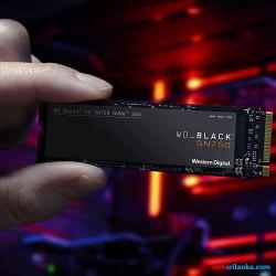Western Digital Black SN750 250GB NVMe Internal Gaming SSD - Gen3 PCIe, M.2 2280, 3D NAND - WDS250G3X0C