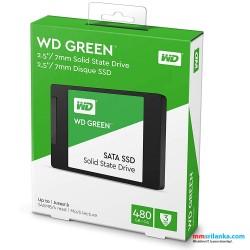 WD Green 480GB 2.5 inch SATA internal SSD
