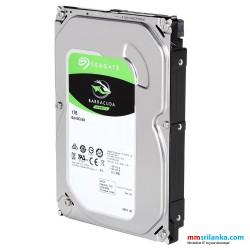 """Seagate BarraCuda 1TB 7200 RPM 64MB Cache SATA 6.0Gb/s 3.5"""" Desktop Hard Drive Bare Drive"""