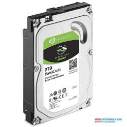 Seagate Barracuda 2TB Internal Hard Disk 3.5 inch 5400RPM 256MB Cache