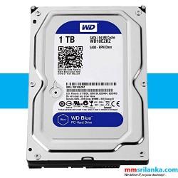 WD Blue 1TB Desktop Hard Disk Drive - 5400 RPM SATA 6Gb/s 64MB Cache 3.5 Inch