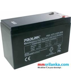 Prolink 12V / 8.2Ah UPS Battery
