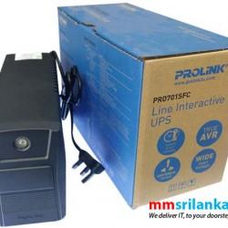 Prolink Pro 701 Super-Fast Charging Line Interactive UPS
