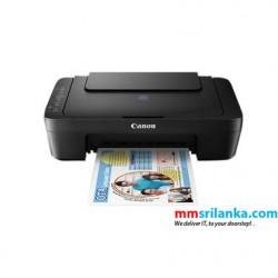 Canon PIXMA E470 Ink Efficient Wireless All-In-One Printer (Print/Scan/Copy/WiFi)