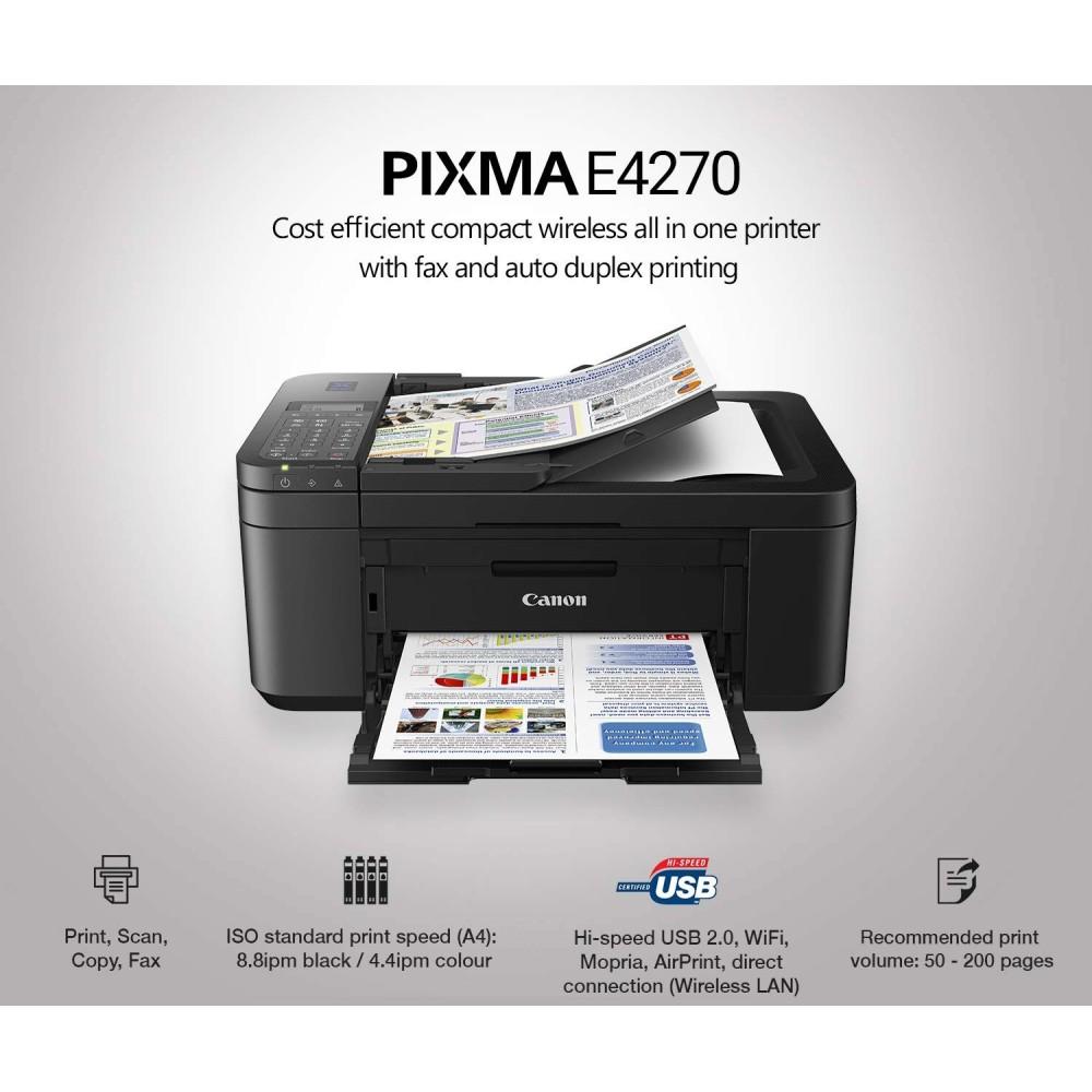 Canon PIXMA E4270 All in One Wireless Printer/Scan/Copy/FAX