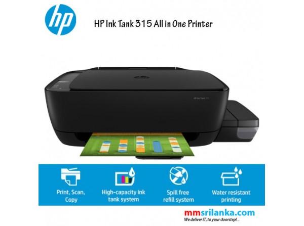 HP DeskJet 315 All-in-One Ink Tank