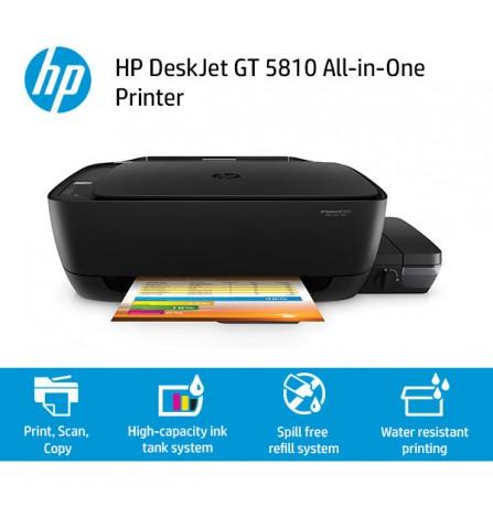 Hp Deskjet Gt 5810 All In One Ink Tank Printer
