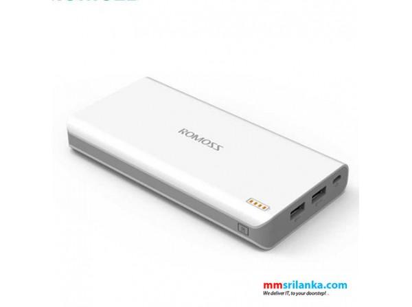 Romoss Sense 6P 20000Mah Power Bank External Battery