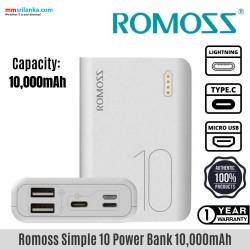 ROMOSS Simple 10 10000mAh Power Bank