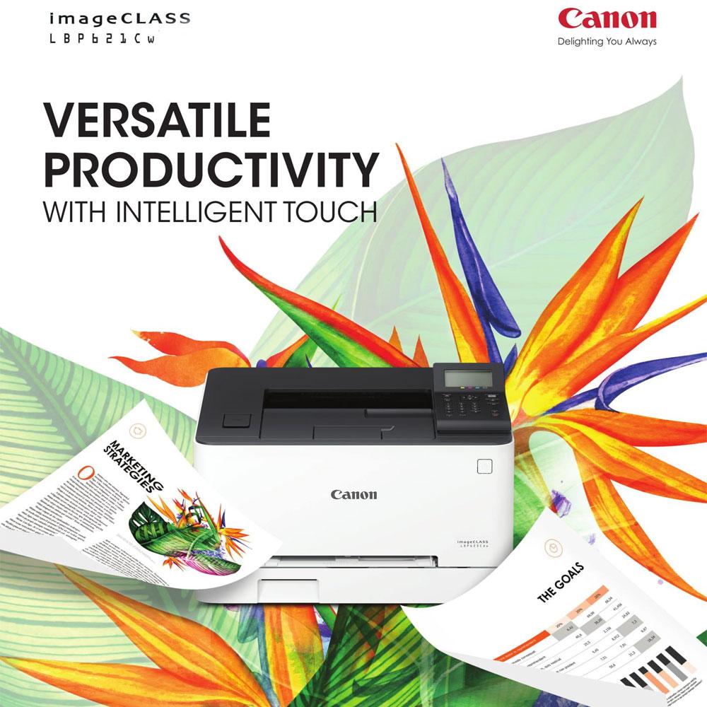 Canon imageCLASS LBP621Cw Color Laser Wireless Printer