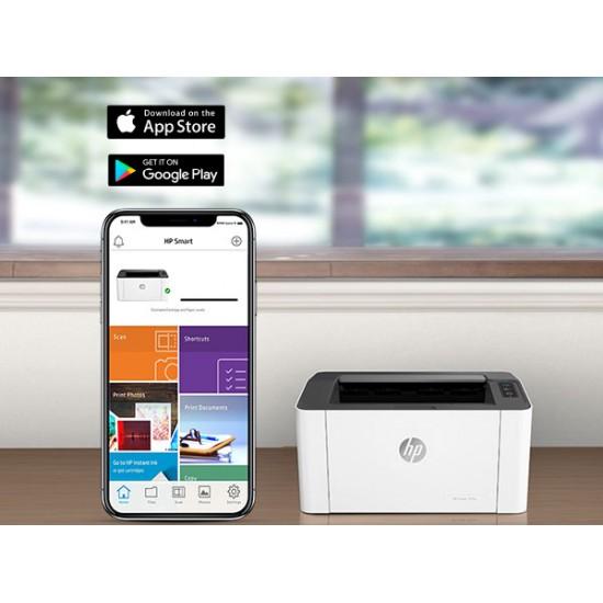 HP Laser 107w A4 Mono Wireless Laser Printer