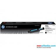 HP 103A Black Original Neverstop Laser Toner Reload Kit