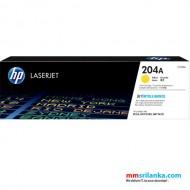 HP 204A Yellow LaserJet Toner Cartridge for HP M154a/ M180n/ M181FW - CF512A