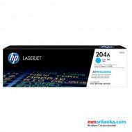 HP 204A Cyan LaserJet Toner Cartridge for HP M154a/ M180n/ M181FW - CF511A