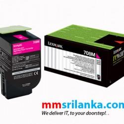 Lexmark 708HM Magenta High Yield Toner Cartridge for CS310/CS410/CS510