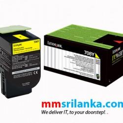 Lexmark 708HY Yellow High Yield Toner Cartridge for CS310/CS410/CS510