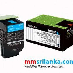 Lexmark 708HC Cyan High Yield Toner Cartridge for CS310/CS410/CS510