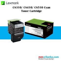Lexmark 708 Black Toner Cartridge for CS310/CS410/CS510